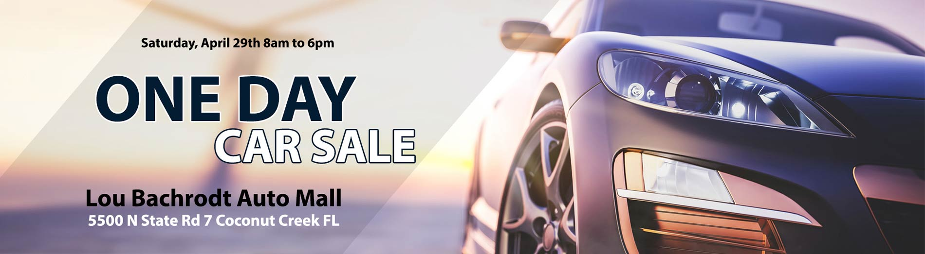 One day Car Sale
