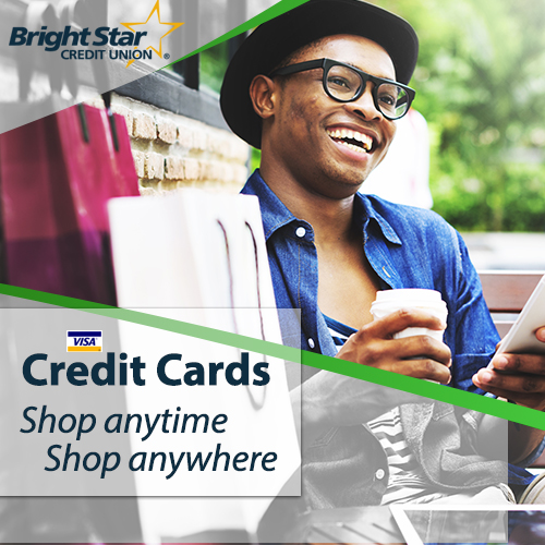BrightStar Credit Union Visa Credit card