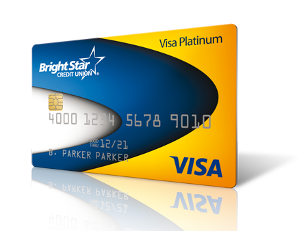 Credit cards brightstar credit union visa platinum credit card reheart Choice Image