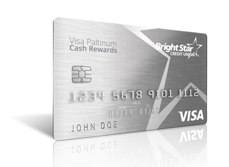 Visa Platinum Cash Rewards Card